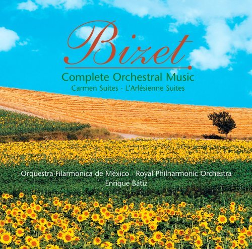 G. Bizet Complete Orchestral Music 3 CD Royal Philharmonic Orchestra