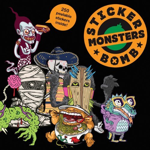 Rarekwai Studio Stickerbomb Monsters