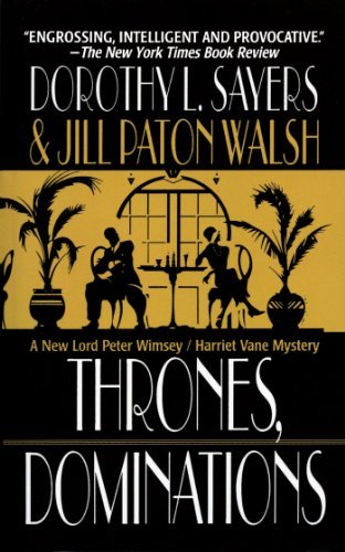 Dorothy L. Sayers Thrones Dominations