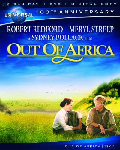 Out Of Africa Redford Streep Blu Ray Ws Pg Incl. DVD