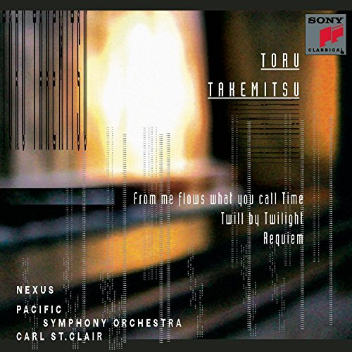 T. Takemitsu Flows Twill By Twilight Requie Various