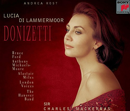 G. Donizetti Lucia Di Lammermoor Comp Opera Rost Ford Michaels Moore Mackerras Hanover Band