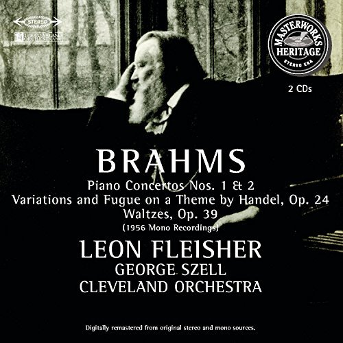 Johannes Brahms Piano Concertos Fleisher*leon (pno) Szell Cleveland Orch