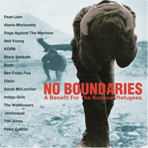No Boundaries Benefit For T No Boundaries Benefit For The Young Pearl Jam Korn Oasis Black Sabbath Indigo Girls