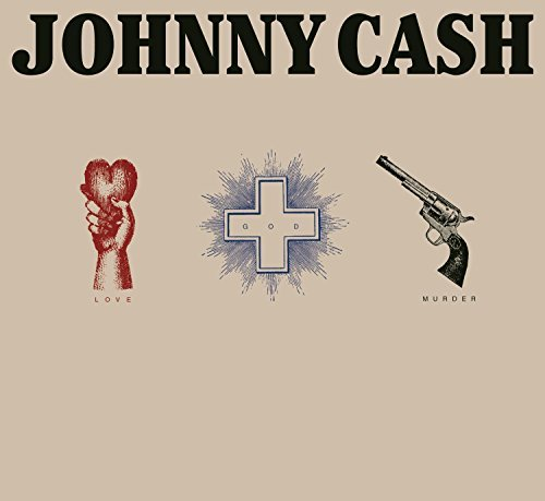 Johnny Cash Love God Murder 3 CD