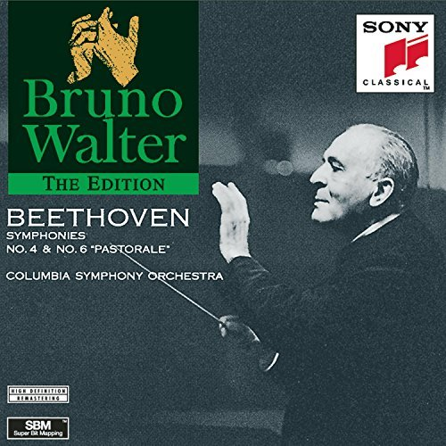 Ludwig Van Beethoven Symphony Nos 4 & 6 Walter Columbia So