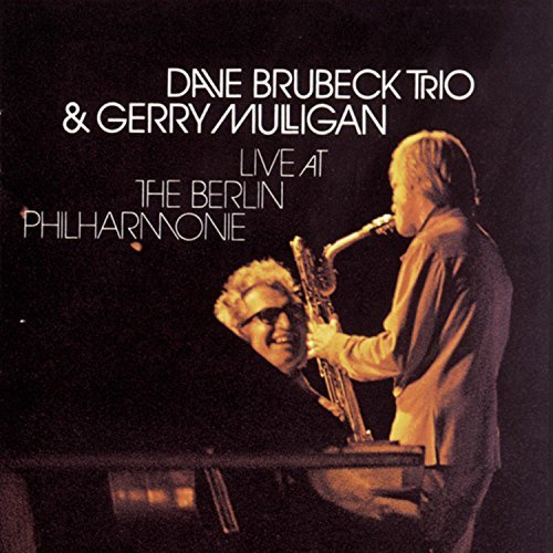 Brubeck Mulligan Live At The Berlin Philharmoni 2 CD Set
