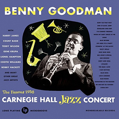 Benny Goodman Live 1938 At Carnegie Hall Com 2 CD Set