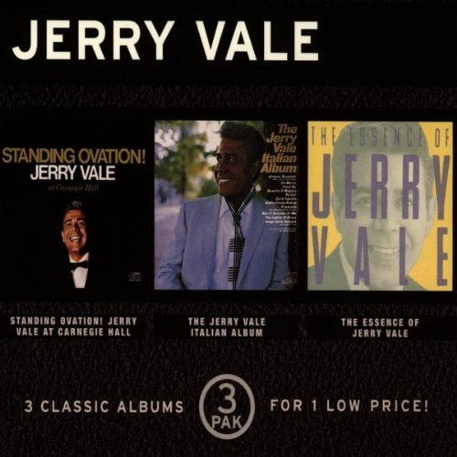 Jerry Vale Standing Ovation! Italina Albu 3 CD Set