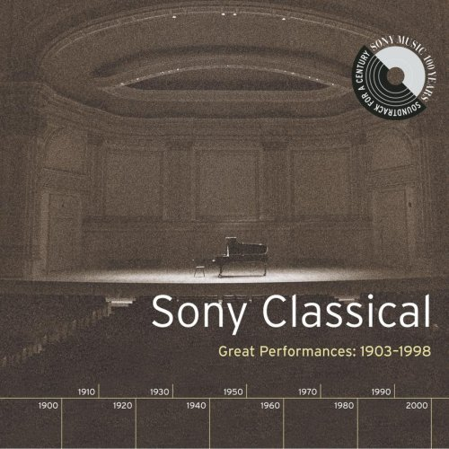 Sony Classical Great Performan Sony Classical Great Performan Various 4 CD Set
