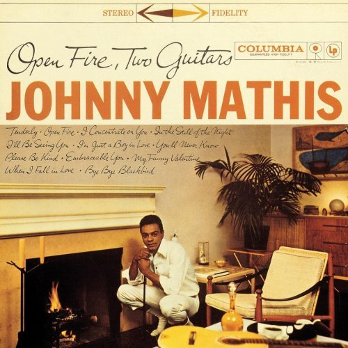 Johnny Mathis Open Fires Two Guitars Incl. Bonus Tracks