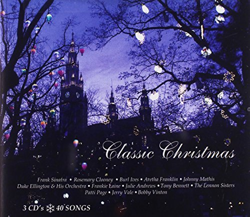 Classic Chrismtas Classic Christmas Sinatra Clooney Mathis Godfrey 3 CD