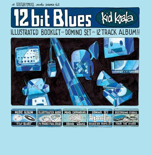 Kid Koala 12 Bit Blues 180gm Vinyl 2 Lp