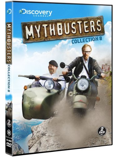 Mythbusters Collection 8 DVD Tvpg