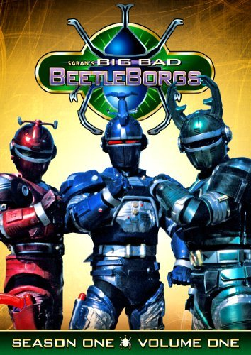 Big Bad Beetleborgs Vol. 1 Sea Big Bad Beetleborgs Tvy7 3 DVD
