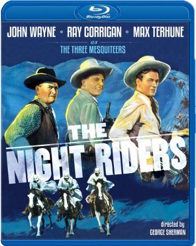 Night Riders (1939) Wayne Corrigan Terhune Blu Ray Ws Bw Nr