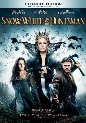 Snow White & The Huntsman Stewart Theron Hemsworth DVD Pg13 Ws