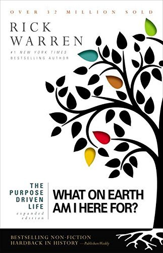 Rick Warren The Purpose Driven Life What On Earth Am I Here For? Expanded Large Print