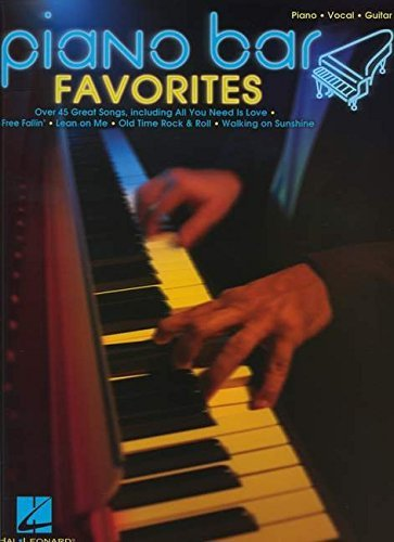 Hal Leonard Publishing Corporation Piano Bar Favorites