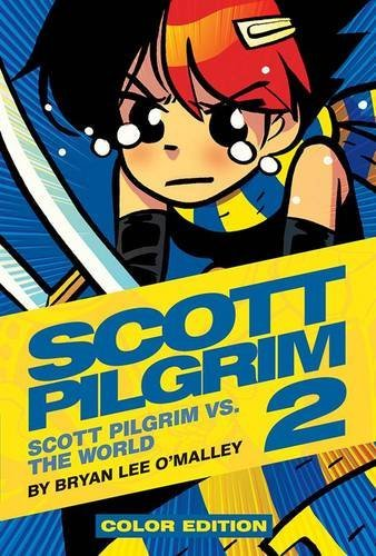 Bryan Lee O'malley Scott Pilgrim Volume 2 Scott Pilgrim Vs. The World