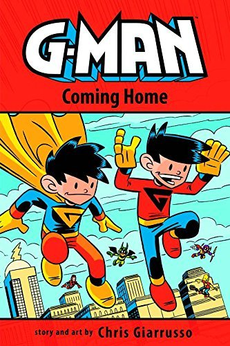 Chris Giarrusso G Man Volume 3 Coming Home Tp