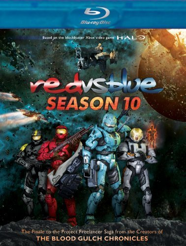 Red Vs. Blue Season 10 Blu Ray Nr