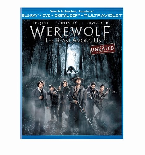 Werewolf The Beast Among Us Rea Quinn Bauer Blu Ray Ws R Incl. DVD
