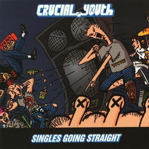 Crucial Youth Singles Going Straight 1986 19