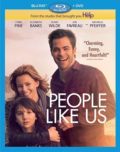 People Like Us Pine Pfeiffer Banks Blu Ray Ws Pg13 Incl. DVD