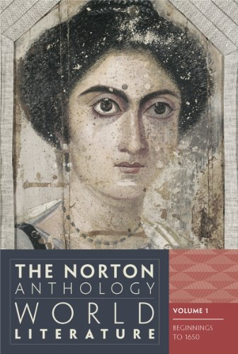 Martin Puchner The Norton Anthology Of World Literature Abridged