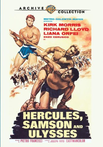 Hercules Samson & Ulysses (196 Morris Lloyd Orfei Made On Demand Nr