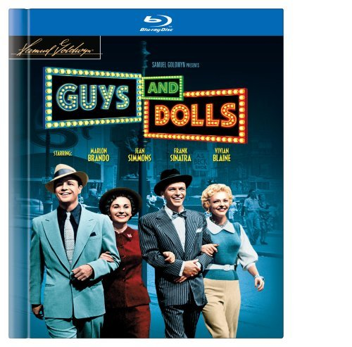 Guys & Dolls Brando Simmons Sinatra Blu Ray Ws Nr Incl. Book