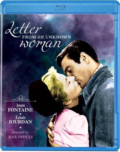 Letter From An Unknown Woman ( Fontaine Jourdan Blu Ray Bw Ws Nr