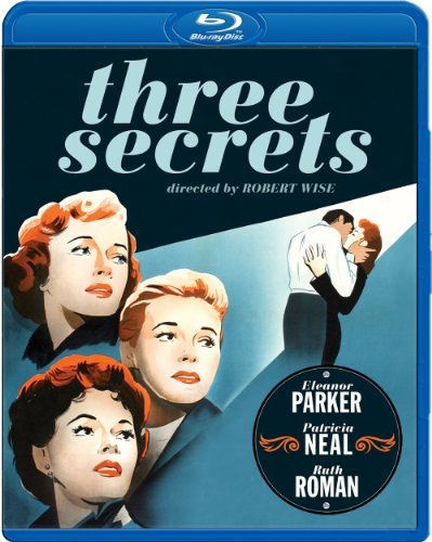 Three Secrets (1950) Parker Neal Roman Blu Ray Bw Ws Nr