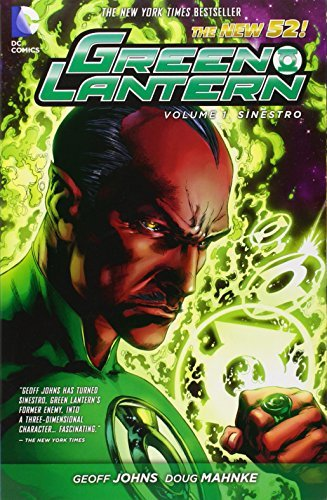 Geoff Johns Green Lantern Vol. 1 Sinestro (the New 52)
