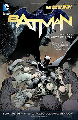 Scott Snyder The Court Of Owls New 52