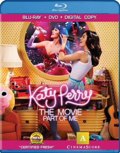 Katy Perry The Movie Part Of Me Perry Katy Blu Ray DVD Dc Pg