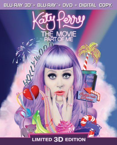 Katy Perry The Movie Part Of Perry Katy Blu Ray Ws Pg Incl. DVD Dc Uv