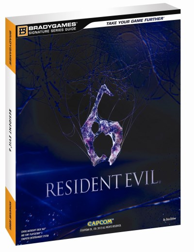 Bradygames Resident Evil 6 Signature Series Guide