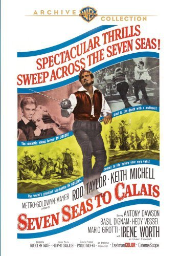 Seven Seas To Calais (1962) Taylor Mitchell Vessel Made On Demand Nr