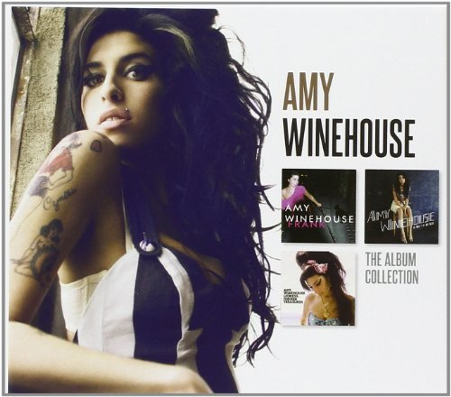 Amy Winehouse Album Collection Explicit Version 3 CD