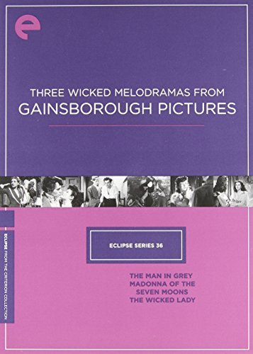 Three Wicked Melodramas From Gainsborough Pictures Eclipse Series 36 Bw Nr Criterion Collection
