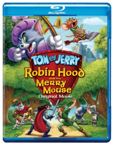 Robin Hood & His Merry Mouse Tom & Jerry Blu Ray Ws Nr Incl. DVD