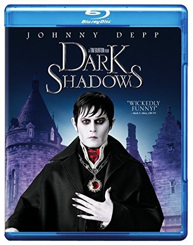 Dark Shadows (2012) Depp Carter Blu Ray DVD Dc Pg13