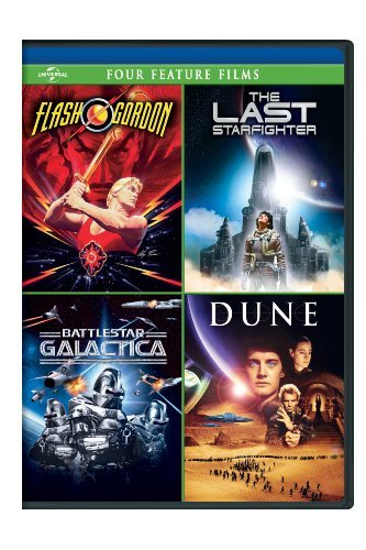 Flash Gordon Last Starfighter Flash Gordon Last Starfighter Aws Pg13 4 DVD