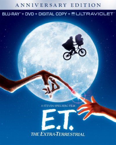 E.T. The Extra Terrestrial Barrymore Thomas Wallace Coyote Blu Ray DVD Dc Uv Pg