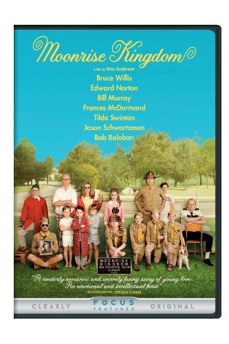Moonrise Kingdom Willis Norton Ward DVD Pg13