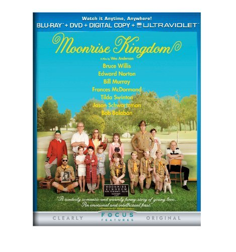 Moonrise Kingdom Willis Norton Ward Blu Ray DVD Pg13