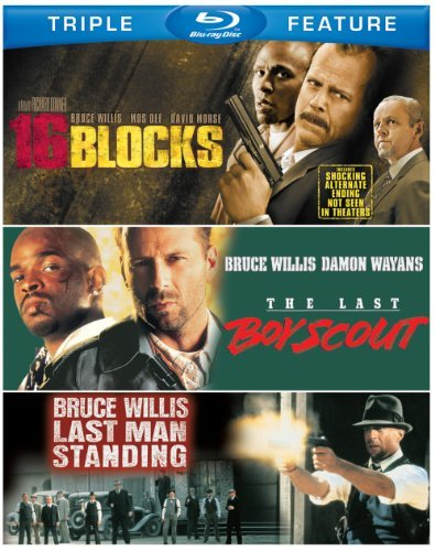 16 Blocks Last Boy Scout Last Willis Bruce Blu Ray Ws Nr 3 Br