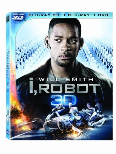 I Robot 3d Smith Cromwell Blu Ray Ws 3d Pg13